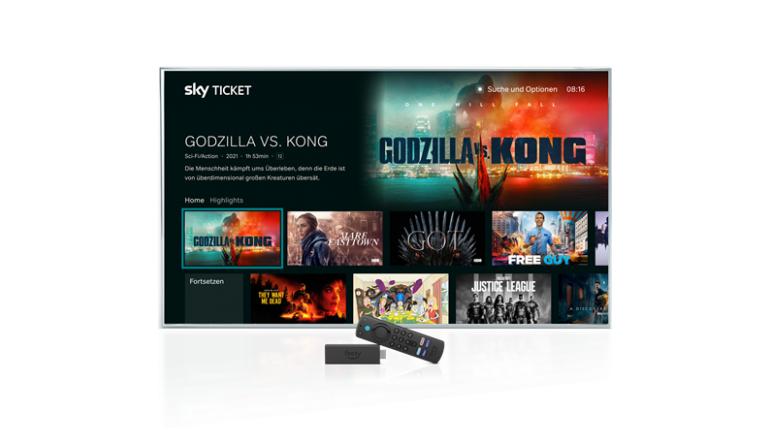 TV Sky Ticket jetzt auch auf dem Fire TV Stick 4K Max verfügbar - News, Bild 1