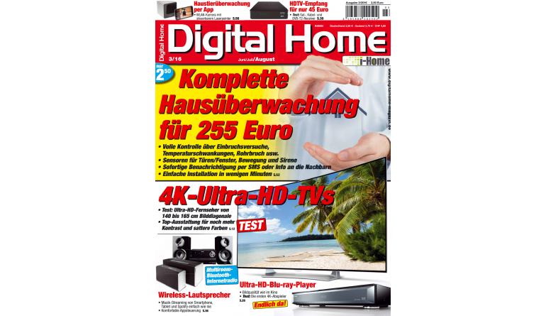 """Smart Home Alle EM-Spiele auch mobil verfolgen und die besten Flat-TVs: Die neue """"Digital Home"""" ist da - News, Bild 1"""