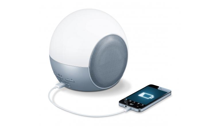 Smart Home Neu bei uns im Test: Lichtwecker von Beurer mit App-Steuerung und Radio - Für iOS und Android - News, Bild 1