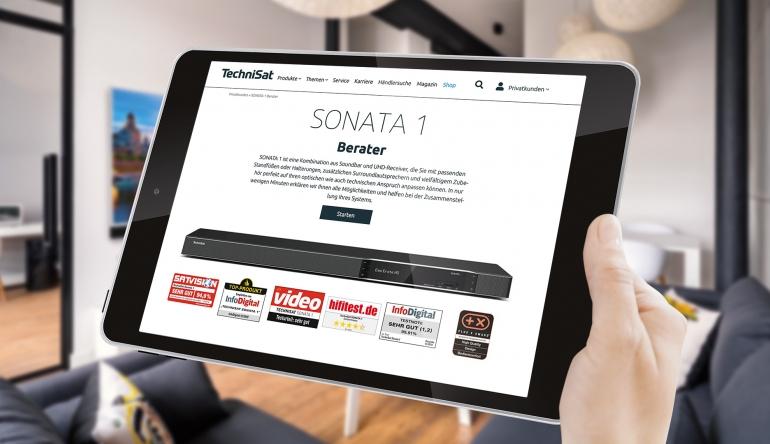 Heimkino Online-Berater für Technisats UHD-Receiver Sonata 1 für individuelle Konfiguration - News, Bild 1
