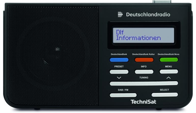 HiFi Sonderedition Digitradio 210 von Technisat: Option für Deutschlandradio-Fans - News, Bild 1