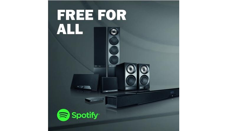 HiFi Spotify Free ab sofort auf allen Streaming-Lautsprechern von Teufel - News, Bild 1