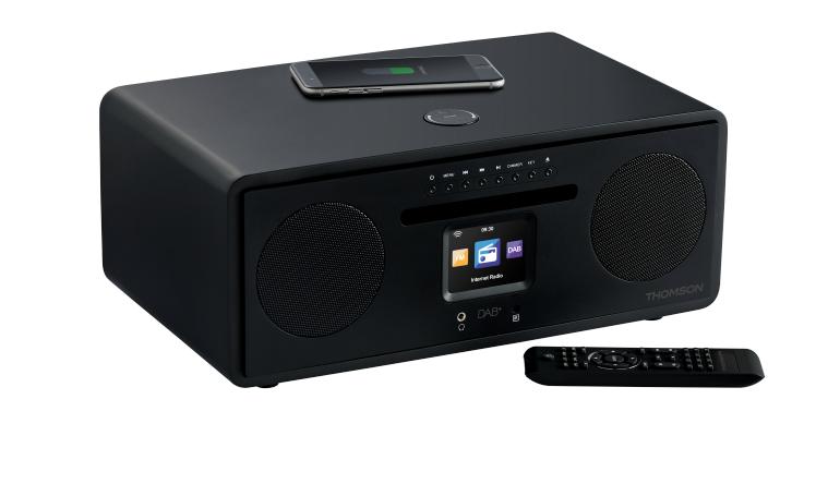 HiFi Mikro-Hifi-Anlage von Thomson mit WLAN, Bluetooth, CD, FM, DAB+ und USB - News, Bild 1