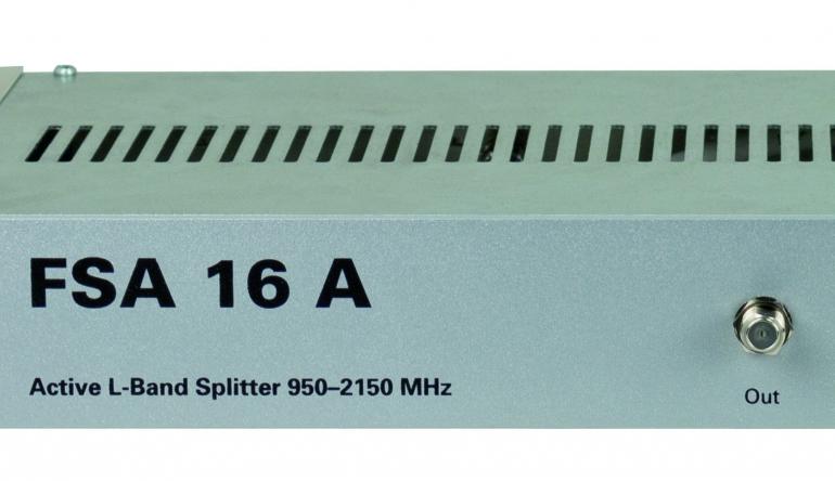 TV Aktiver SAT-Verteiler von Polytron - 16 Ausgangssignale - News, Bild 1