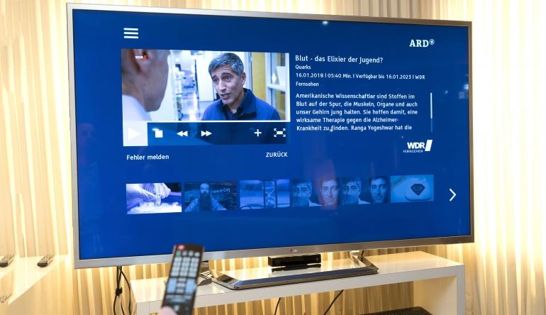 TV ARD überarbeitet HbbTV-Angebot - Startleiste mit neuer Optik - News, Bild 1