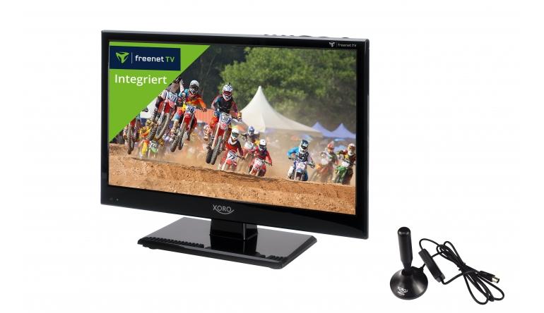 TV Kompakter Fernseher für Freenet TV von Xoro - DVB-T-Antenne gehört dazu - News, Bild 1