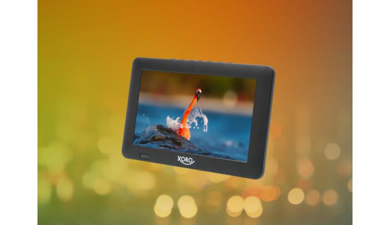 TV Mini-TV von Xoro für DVB-T2 mit Aufnahme-Funktion - 9 Zoll Diagonale - News, Bild 1
