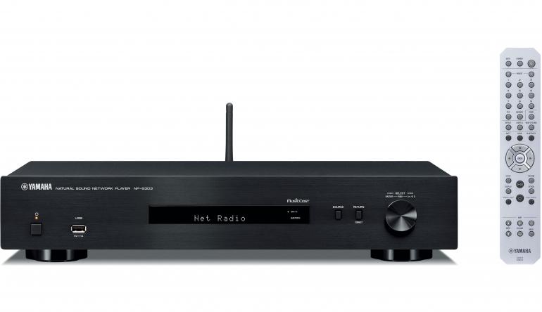 Heimkino WLAN, Bluetooth und Multiroom: Neuer HiFi-Netzwerk-Player NP-S303 von Yamaha - News, Bild 1