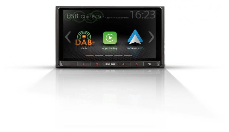 Car-Media 2-DIN-Infotainer mit Apple CarPlay und Android Auto - News, Bild 1