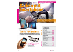 "mobile Devices Neue ""Tablet PC"": Radeln mit Smartphone, XXL-Kaufberatung, Apple iPad Pro & Microsoft Surface Pro 4 im Test - News, Bild 2"