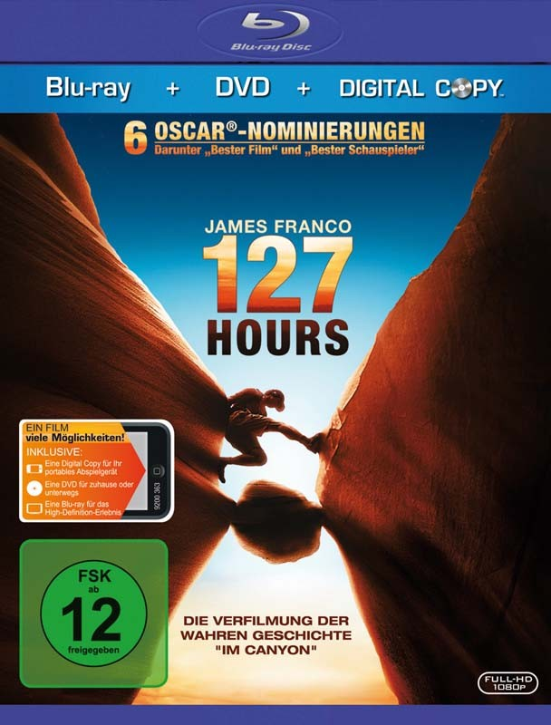 Blu-ray Film 127 Hours (Fox) im Test, Bild 1