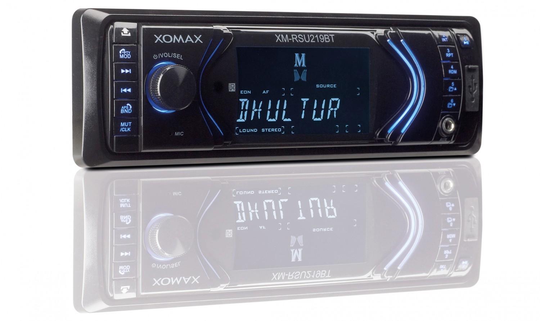 1-DIN-Autoradios Xomax XM-RSU219BT im Test, Bild 1