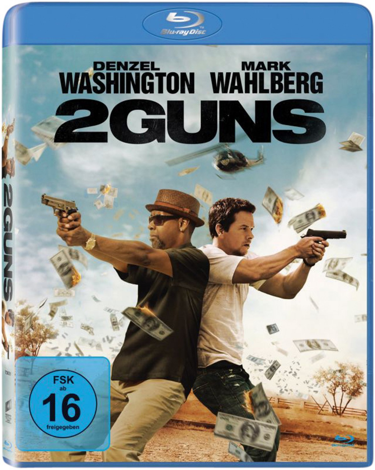 Blu-ray Film 2 Guns (Sony) im Test, Bild 1