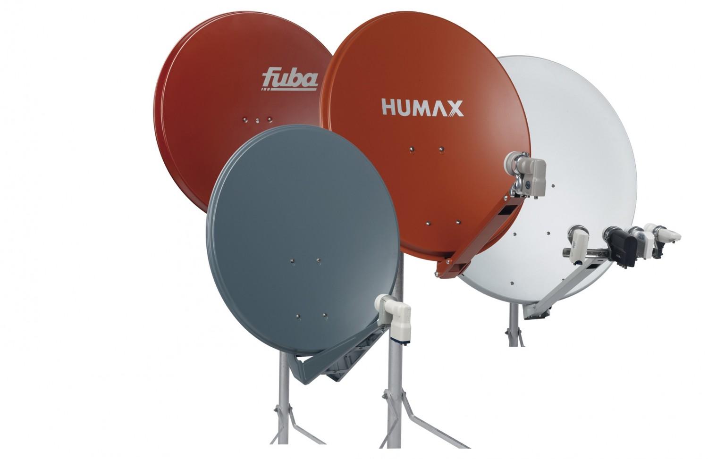Zubehör Heimkino: 4 Sat-Antennen mit 65 bis 100 cm Durchmesser, Bild 1