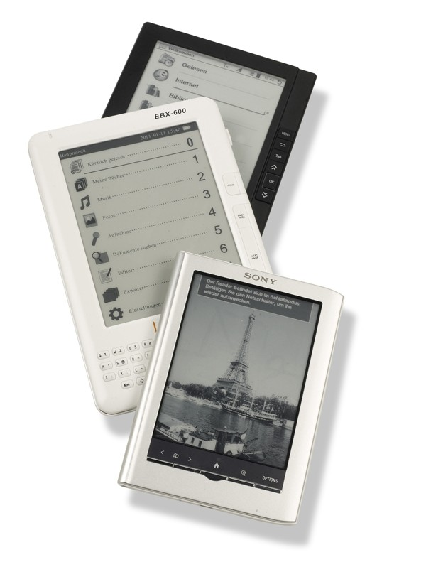E-Book Reader: 6 E-Book-Reader, Bild 1
