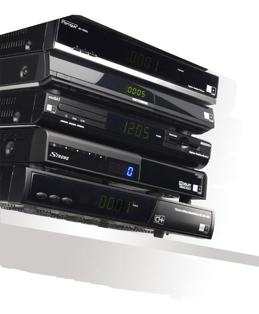 Sat Receiver ohne Festplatte: 6 HDTV-Sat-Receiver für die HD+-Plattform, Bild 1