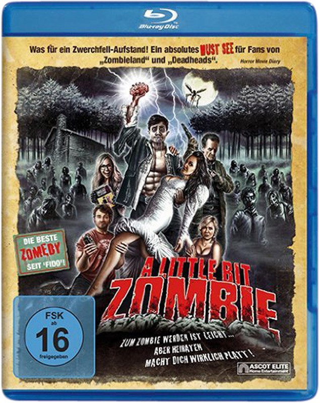 Blu-ray Film A Little Bit Zombie (Ascot) im Test, Bild 1