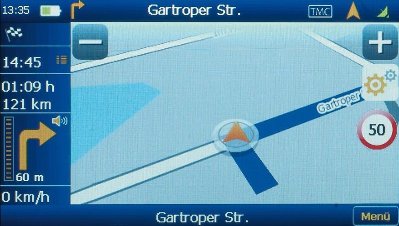 Portable Navigationssysteme a-rival NAV-XEA50 im Test, Bild 3