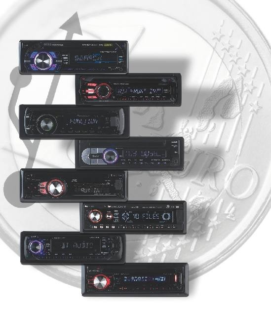 1-DIN-Autoradios: Acht USB-Radios um 100 Euro im Test, Bild 1