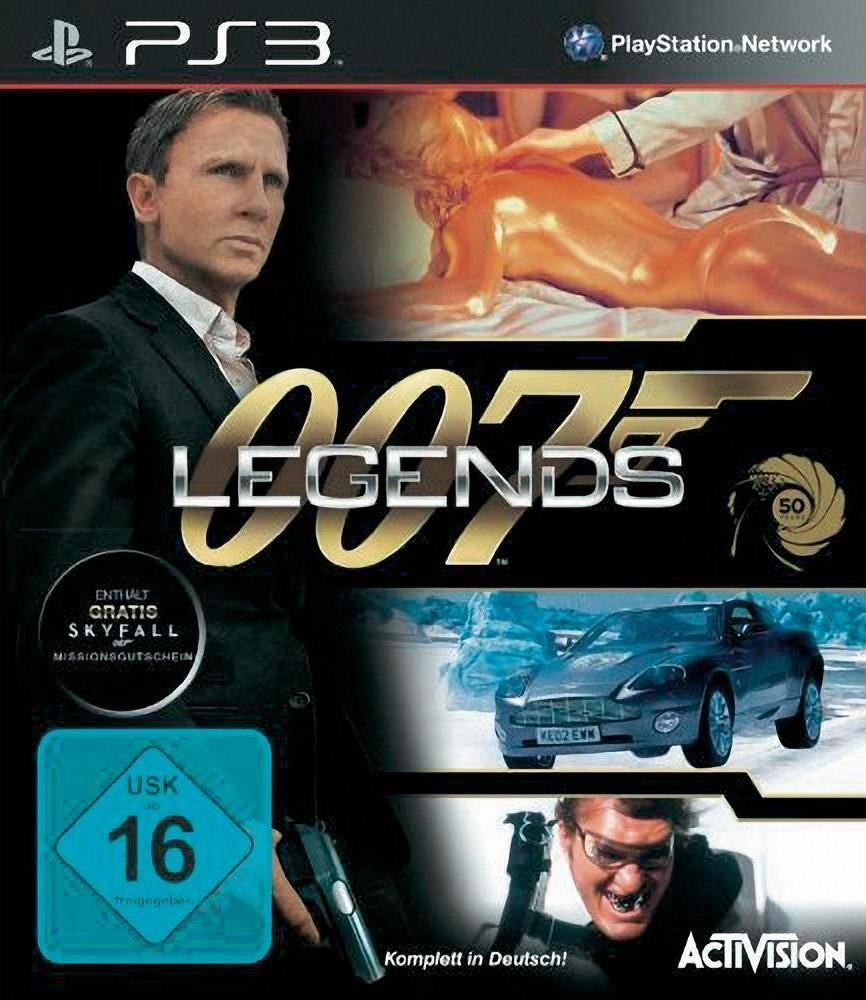 Games Playstation 3 Activision 007 Legends im Test, Bild 1