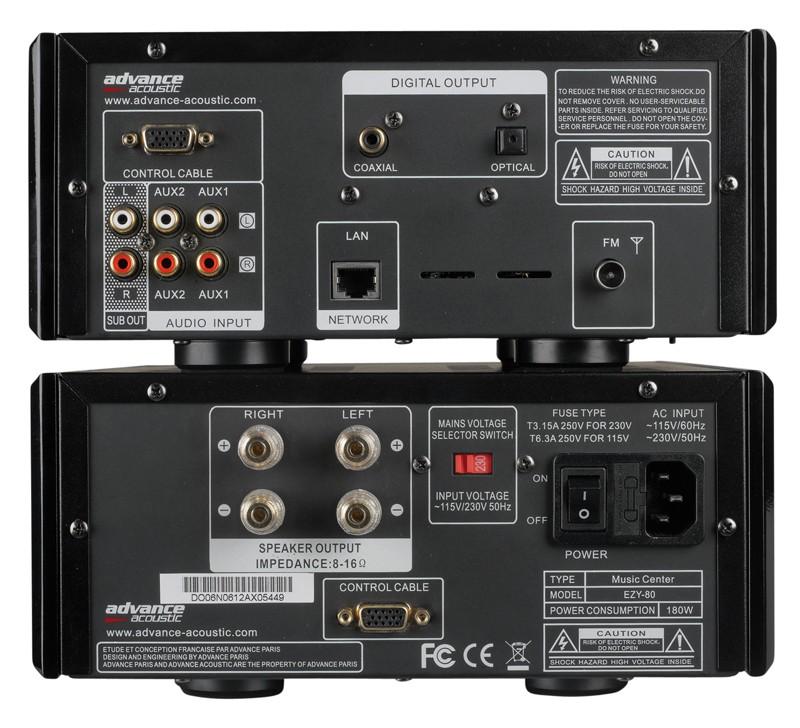 Stereoanlagen Advance Acoustic EZY 80 im Test, Bild 2