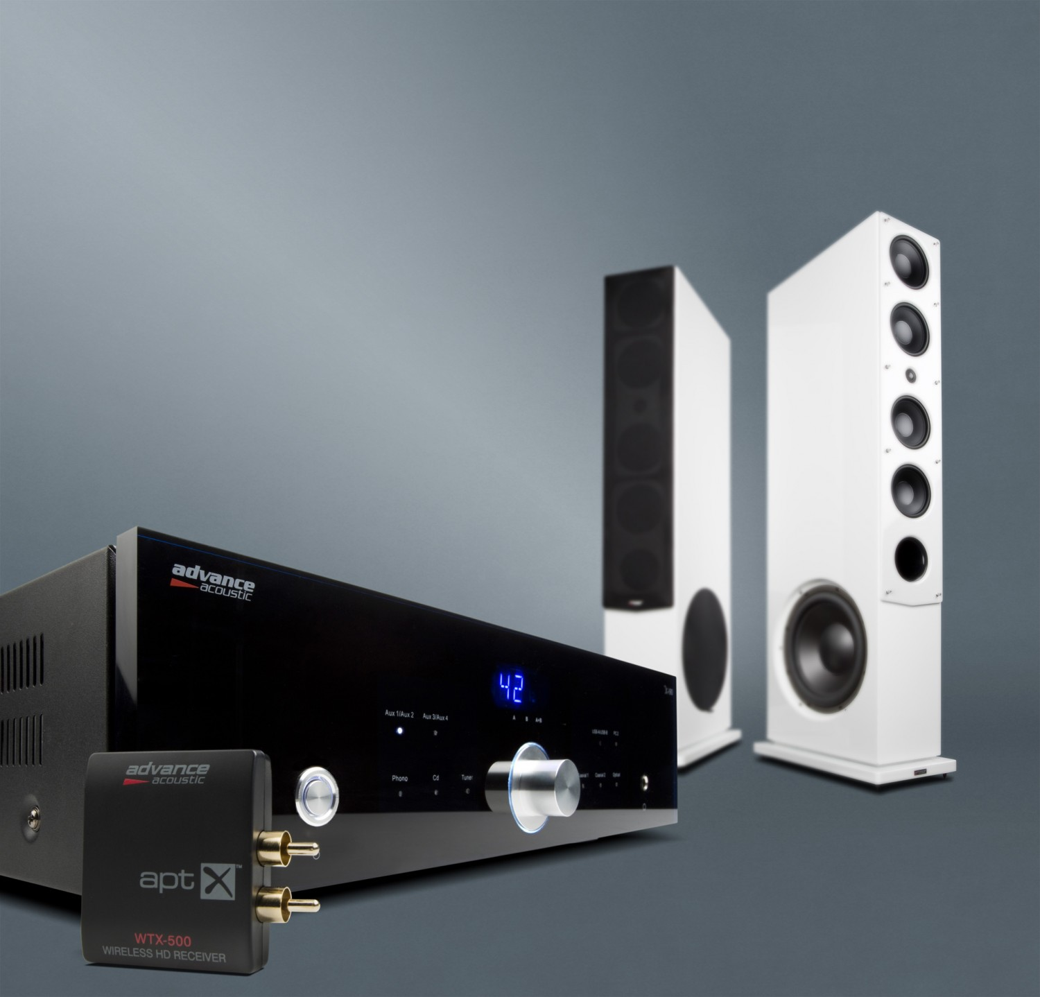 Lautsprecher Stereo Advance Acoustic Kubik K11 S, Advance Acoustic X-I90 im Test , Bild 1