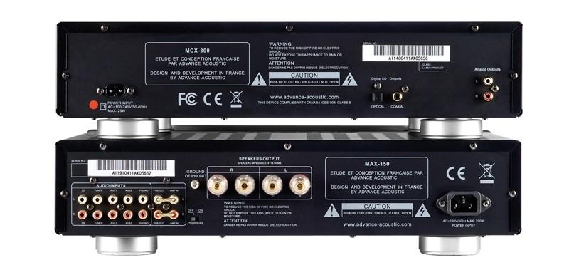 Vollverstärker Advance Acoustic MAX-150, Advance Acoustic MCX-300 im Test , Bild 2