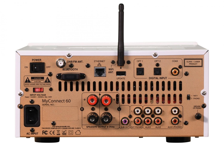 CD-Receiver Advance Paris MyConnect 60, quadral Chromium Style 2 im Test , Bild 2