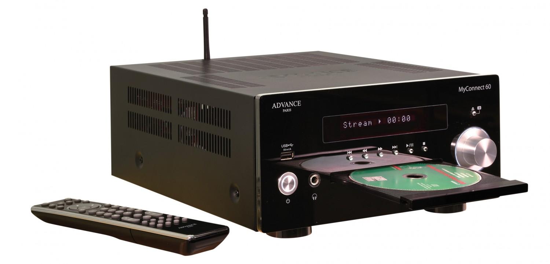 CD-Receiver Advance Paris MyConnect 60, quadral Chromium Style 2 im Test , Bild 4
