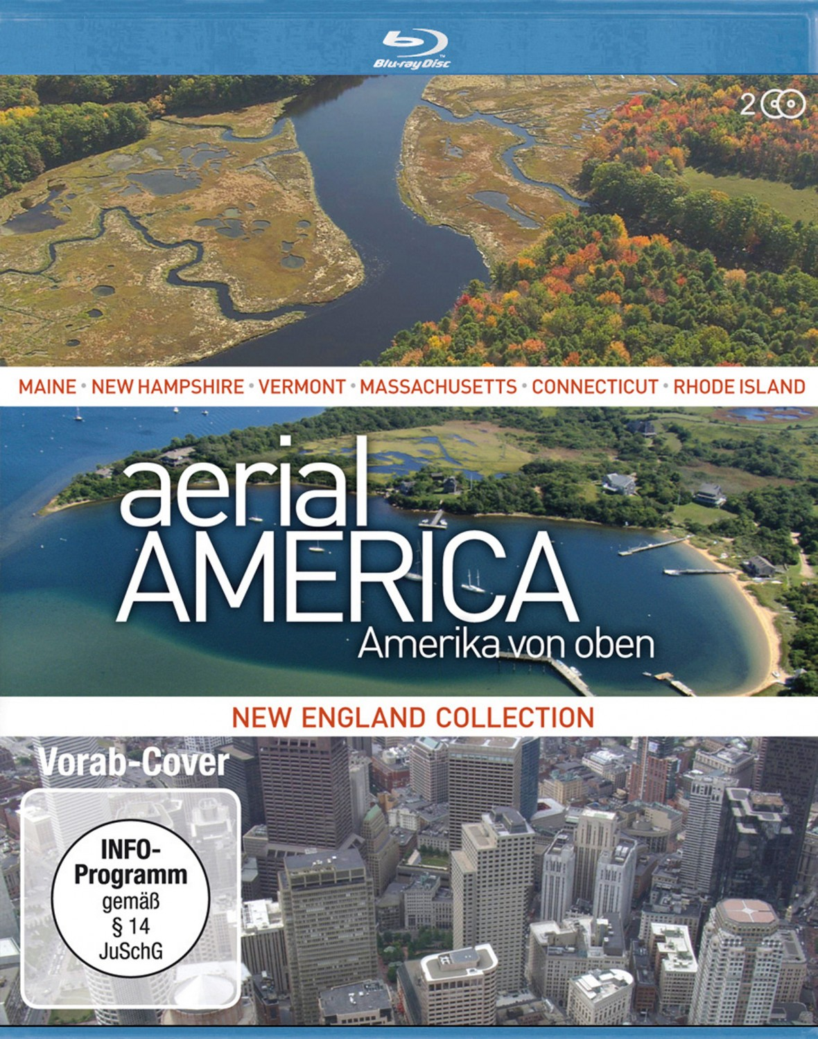 Blu-ray Film Aerial America – New England Collection (Studio Hamburg) im Test, Bild 1