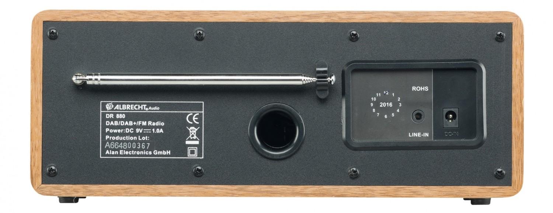 DAB+ Radio Albrecht DR880 im Test, Bild 3