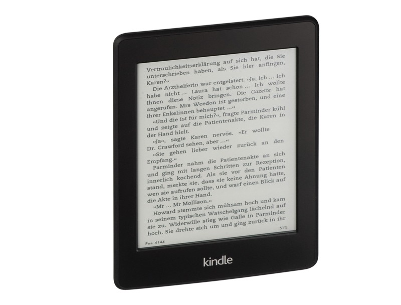 E-Book Reader Amazon Kindle Paperwhite im Test, Bild 1