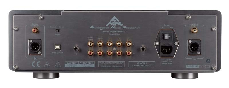 Phono Vorstufen AMR PH-77 im Test, Bild 3