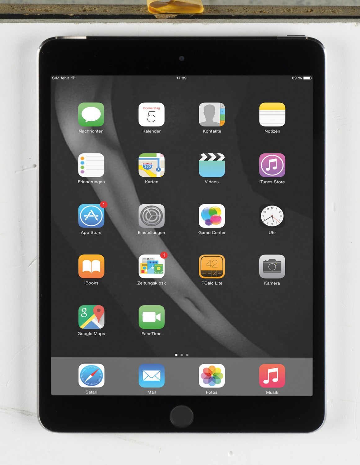 Tablets Apple iPad mini 3 WiFi 16 GB im Test, Bild 1