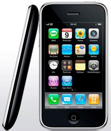 Smartphones Apple iPhone 3G im Test, Bild 1
