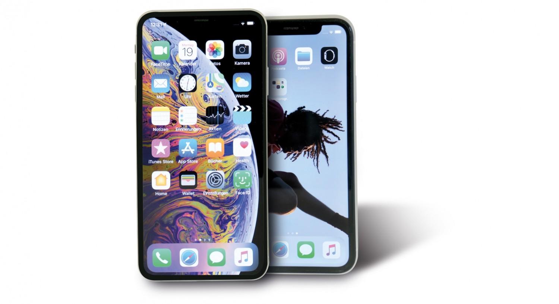 Smartphones Apple iPhone XR, Apple iPhone XS Max im Test , Bild 1