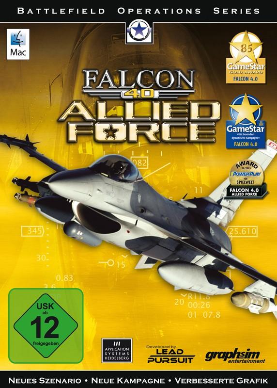 Games MAC Application Systems Falcon 4.0 - Allied Force im Test, Bild 1