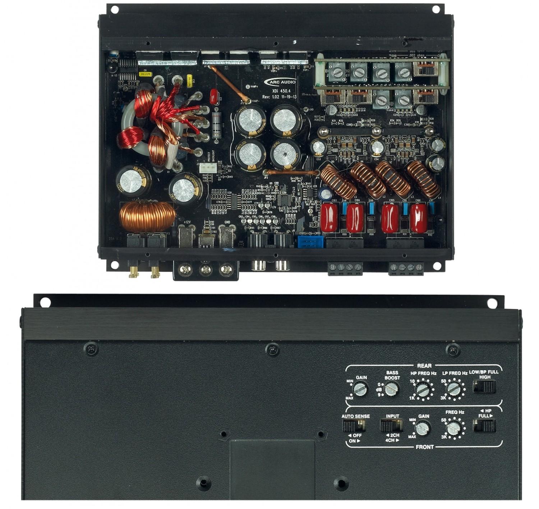 Car-HiFi Endstufe 4-Kanal Arc Audio Xdi 450.4 im Test, Bild 2