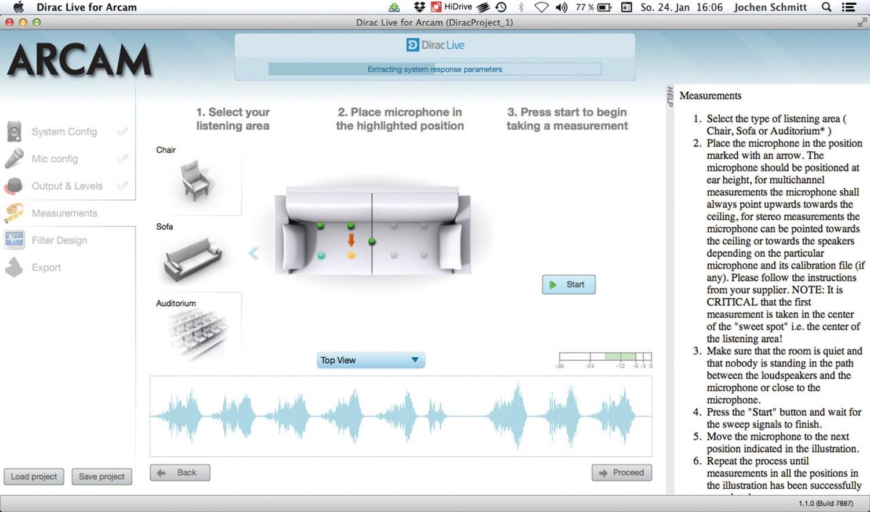 AV-Receiver Arcam AVR850 im Test, Bild 3