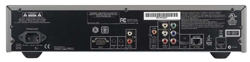 Blu-ray-Player Arcam BDP100 im Test, Bild 2