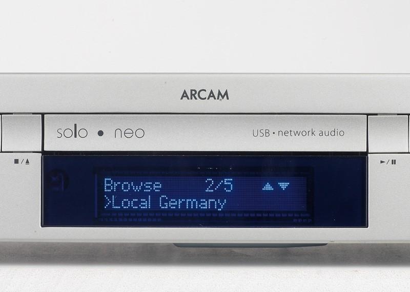 CD-Receiver Arcam Solo Neo im Test, Bild 5