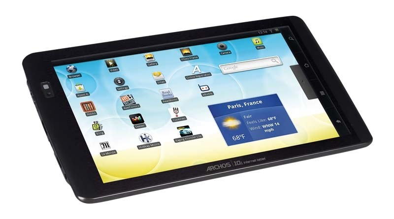 Tablets Archos 10.1 internet tablet im Test, Bild 1