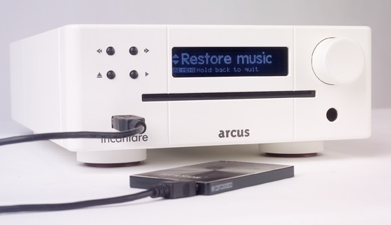 Festplattenplayer Arcus Incantare Music Station im Test, Bild 6