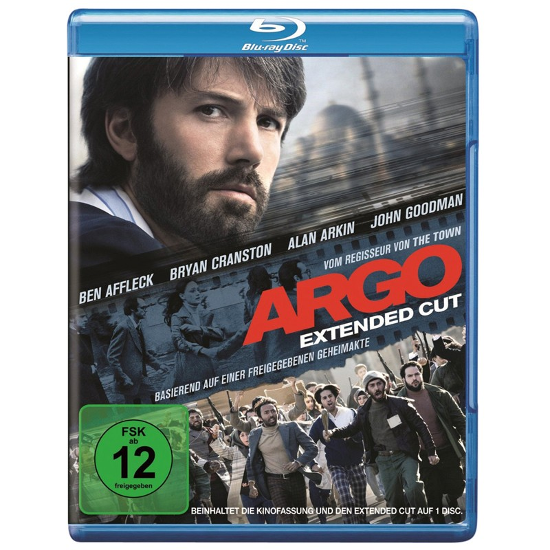 Blu-ray Film Argo Ext. Cut (Warner Home) im Test, Bild 1