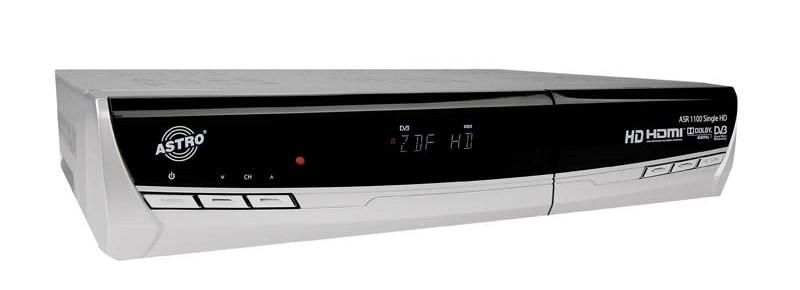 test sat receiver ohne festplatte astro asr 1100 single. Black Bedroom Furniture Sets. Home Design Ideas