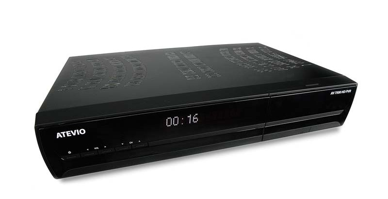 test sat receiver mit festplatte atemio av7500 hd pvr sehr gut. Black Bedroom Furniture Sets. Home Design Ideas