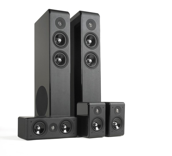 test lautsprecher surround audio pro avanto 5 0 hts. Black Bedroom Furniture Sets. Home Design Ideas