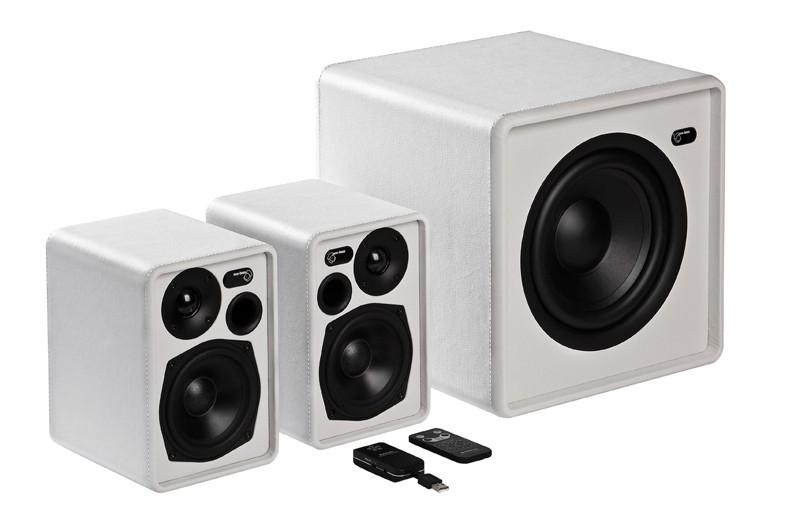 Lautsprecher Stereo Audio Pro Living LV 2, Audio Pro Living LVSub im Test , Bild 3