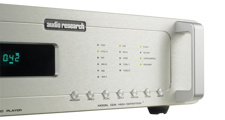 CD-Player Audio Research CD6 im Test, Bild 4