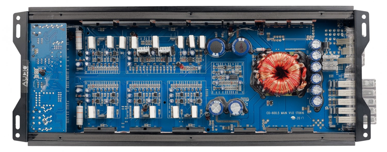 Car HiFi Endstufe Multikanal Audio System CO-600.5 im Test, Bild 2